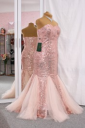 NEU Ballkleid Gala Meerjungfraue Mermaid 40 42 44