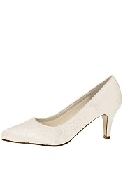 Brautschuh Rainbow Club Pattie Ivory